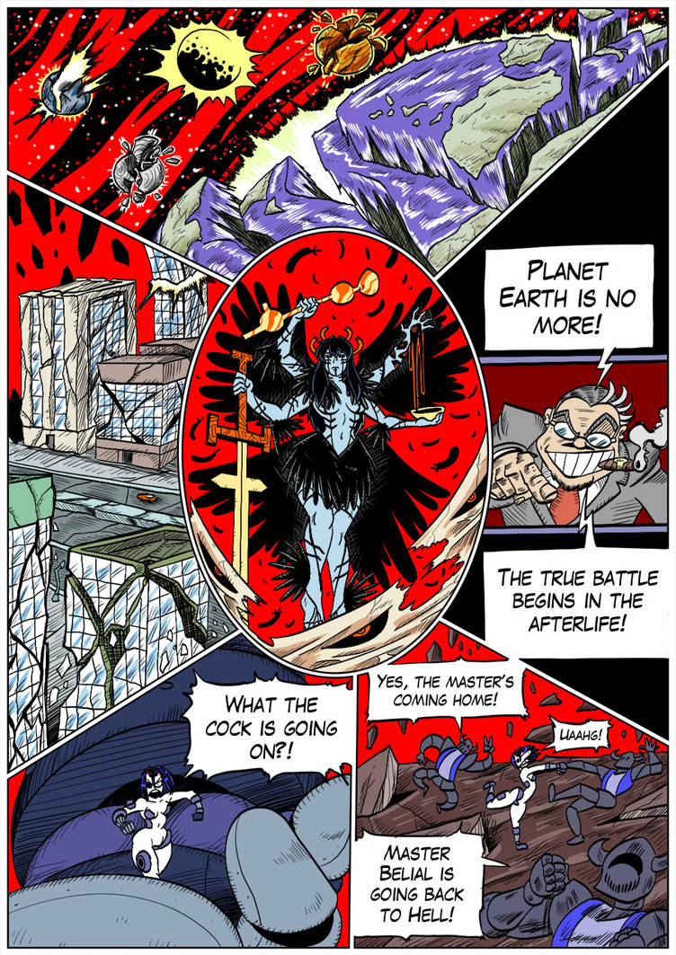 Hellgasm Slaughter: Chapter 1 Page 34 by BlueStrikerBomber