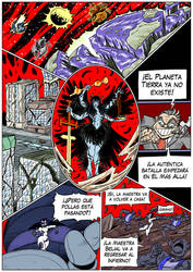 Hellgasm Slaughter: Chapter 1 Page 34 SPANISH by BlueStrikerBomber