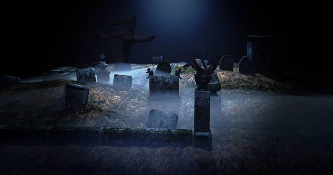 The Graveyard - 3D Render