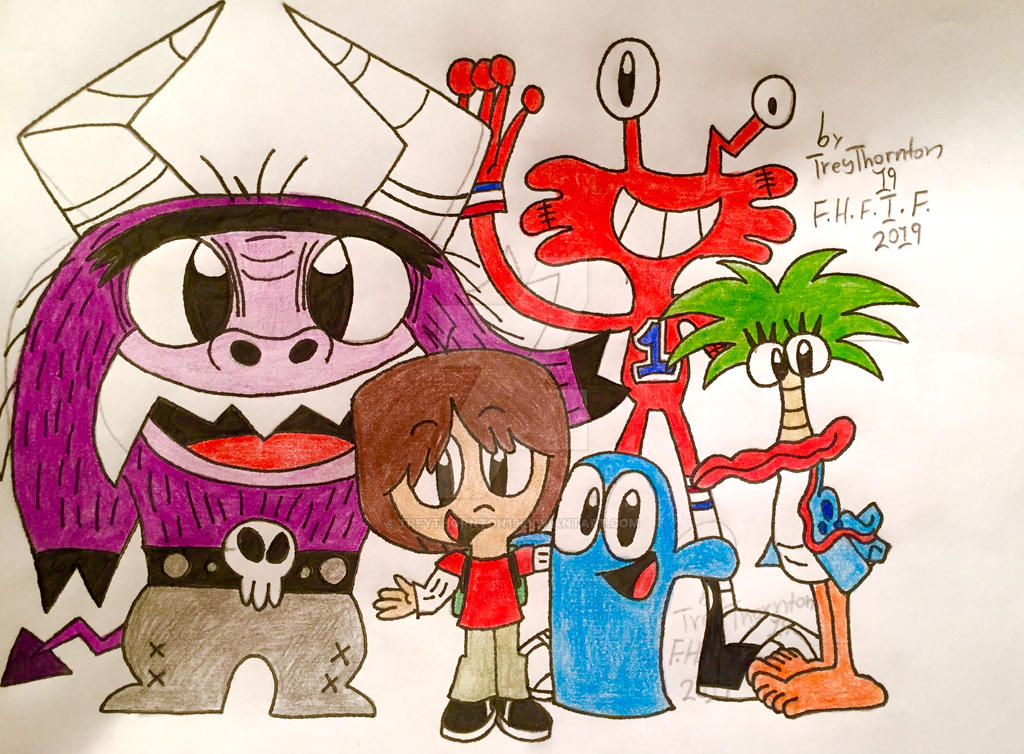 Foster's Home For Imaginary Friends By Treythornton19 On