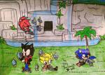 Team Strike in The Chao Garden