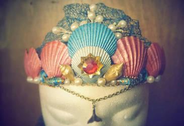 Misty inspired Mermaid crown by Daws3