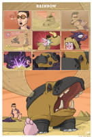 PKMN Rainbow 10 - angry, angry hippo (part 1) by Nk-kN