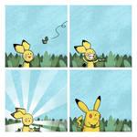 Pokemon Rainbow 24 - Happiness 220 by Nk-kN