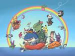 Pokemon Rainbow50! - Somewhere over the Rainbow