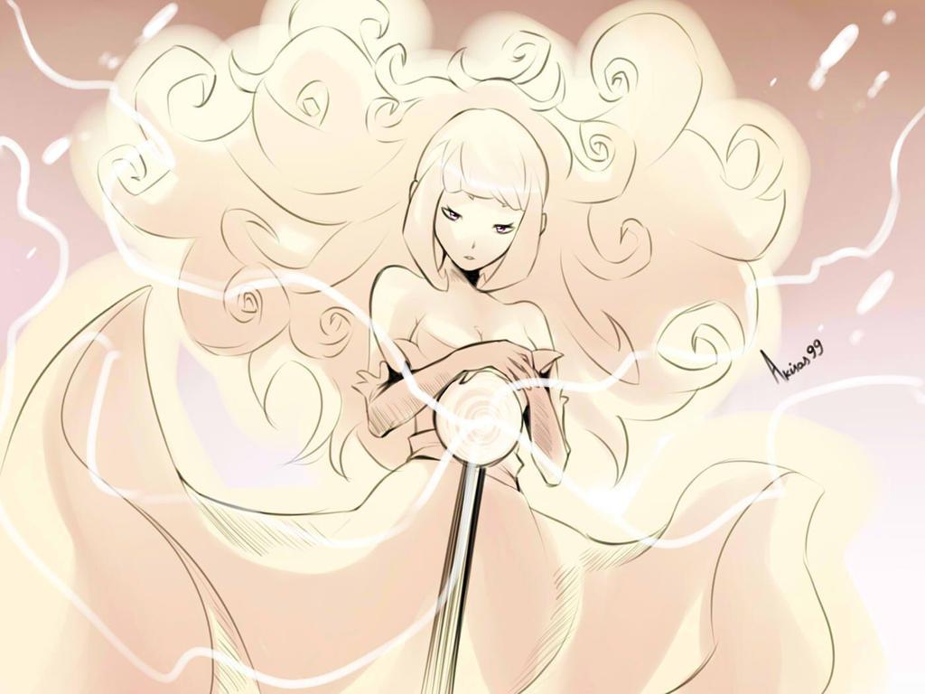 Flower Hair by Akisas99
