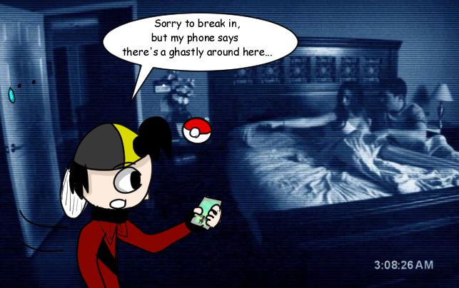 Paranormal Pokemon Go by Charlemagne1