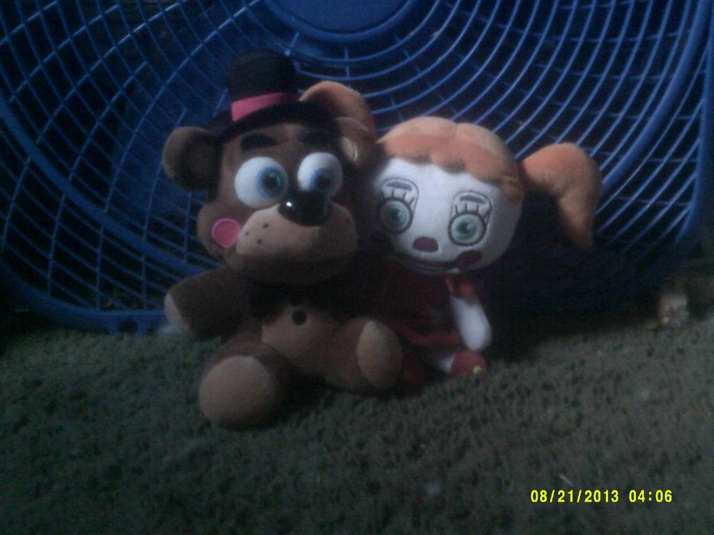 Baby Freddy Toys : Plush toy freddy and baby by randomfnaffan on deviantart