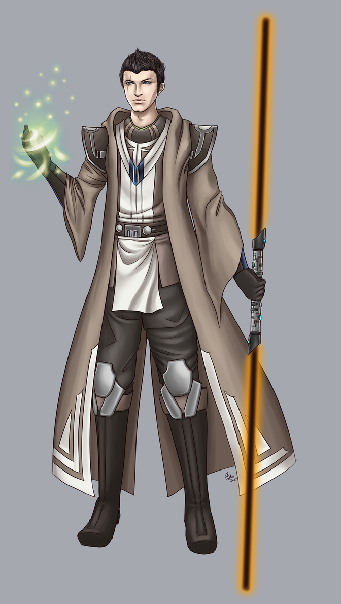 Jedi consular by vianiel for Who is a consular