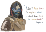Cayde 6 - I don't have time..