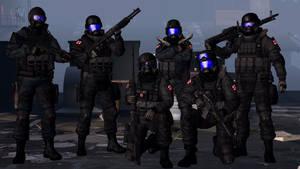 U.S.S. Gamma Team
