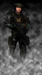 BSAA Special Operations Agent Isaak Reznov by Kommandant4298