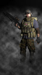 Canadian JTF2 Operator by Kommandant4298