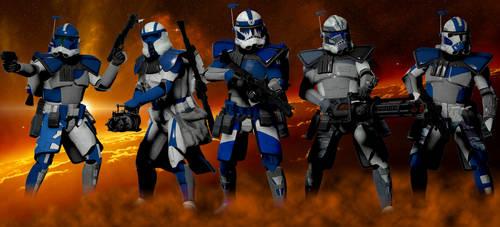My ARC Troopers (Star Wars Day 2019) by Kommandant4298