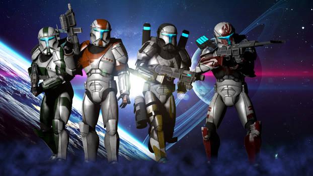 Delta Squad's Online