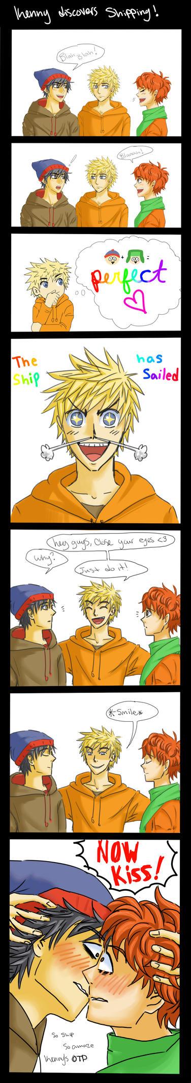 Kenny Starts Shipping: SP comic by LilSnowFox