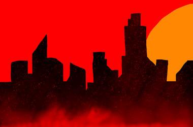 The Red City by VanadiumCat