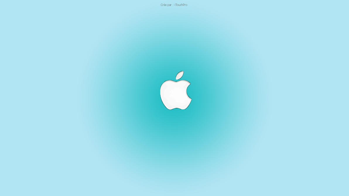 Blue Apple Wallpaper 1 By Itouchpro On DeviantArt