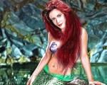 Alyssa Milano as The Little Mermaid