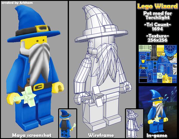 Lego Wizard by LaithArkham
