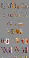 Breakdown for Torchlight equipment mods by ArtOfArkham