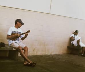 ukulele communication. by lycheese