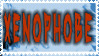 Xenophobe Stamp by Morgue-Awall