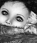 Commission Work - Baby Buddha by nakhoda
