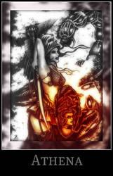 Athena by nakhoda