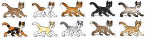 Warrior Cat Breedables - OPEN FOR ADOPTION