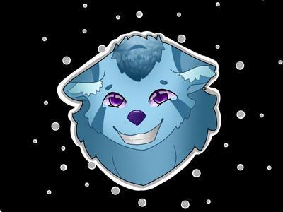 Headshot badge wolfo  by xXFireTearsXx