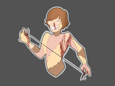 Stitches boi by xXFireTearsXx