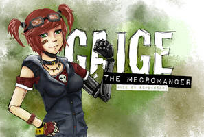 GAIGE - The Mecromancer by SchokoSora