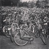 Bikes in Venlo.