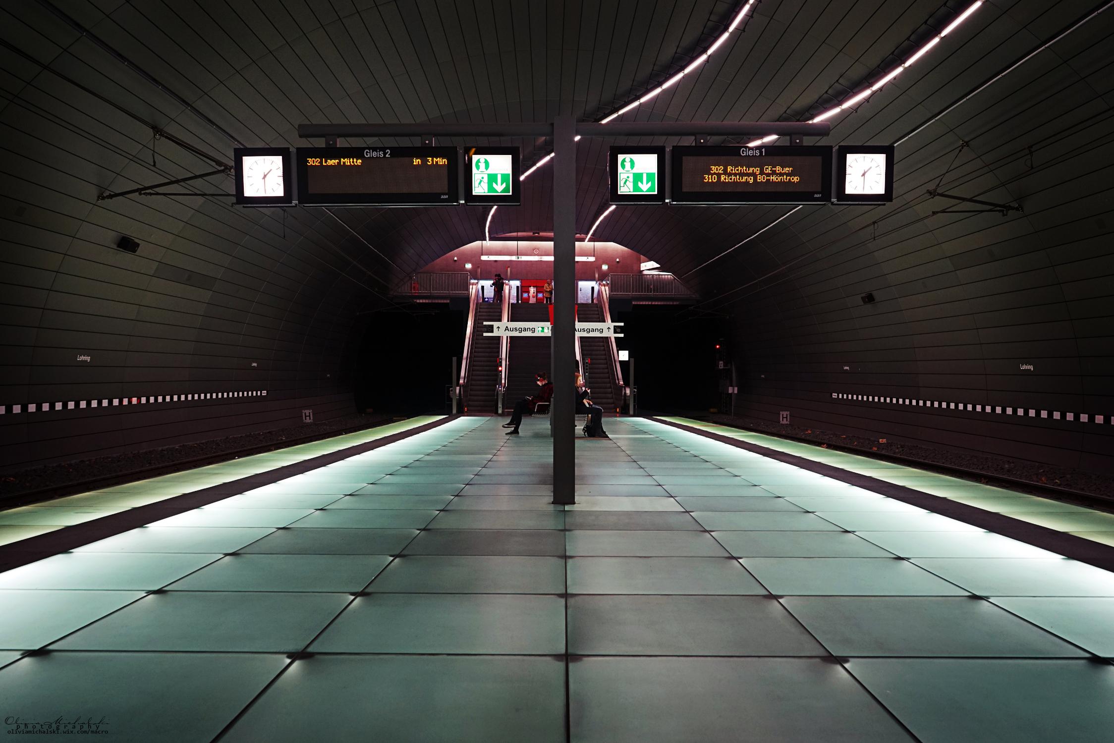 Tram stations by OliviaMichalski