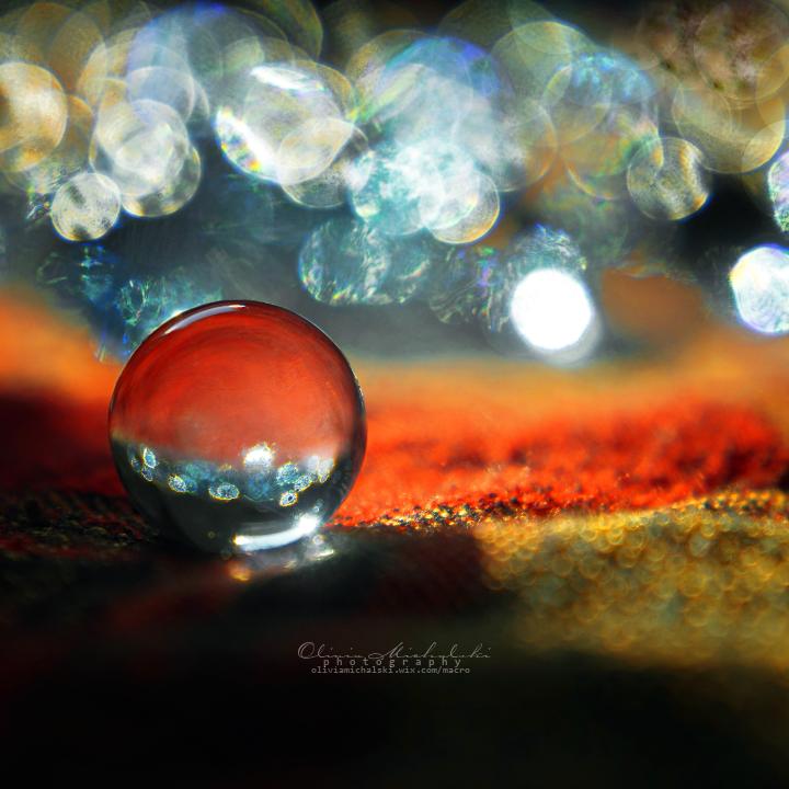 Sparkly firebubble. by OliviaMichalski