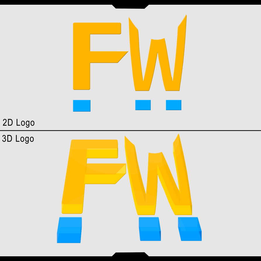 FW 2D And 3D Logo. By Igneusgfx On DeviantART