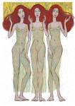 The Three Graces by DStoyanov