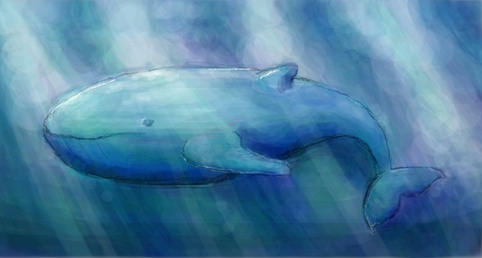 Whale by heavy-mixture