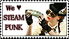 We love steampunk - Stamp by Kiriahtan