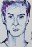 Heroes of Star Trek - Ethan Peck portrait