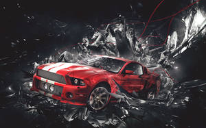 Ford Mustang Faux Ad
