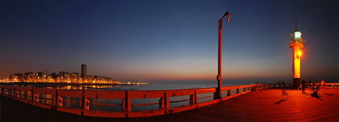 Belgium - Oostende Waterfront by slecocqphotography