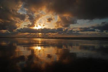 Belgium - Sunburst by slecocqphotography