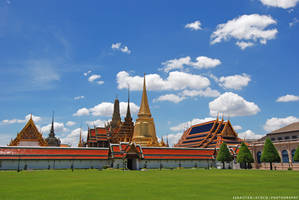 Thailand   Royal Palace by slecocqphotography