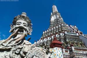 Bangkok   Wat Arun by slecocqphotography