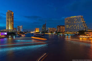 Bangkok Cityscape by slecocqphotography