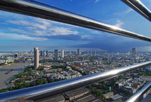 Bangkok Skyline by slecocqphotography