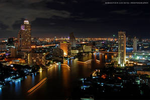 Bangkok - Riverview by slecocqphotography
