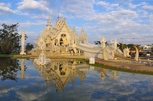 Thailand - Wat Rong Khun by slecocqphotography